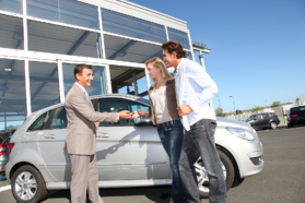 Car Dealership Couple